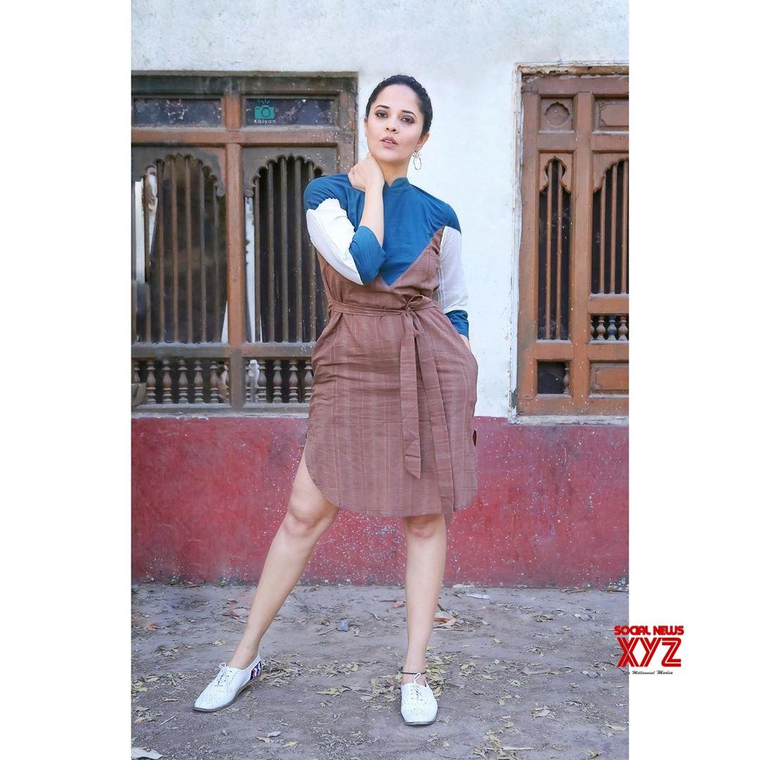 Actress Anasuya Bharadwaj Glam Stills