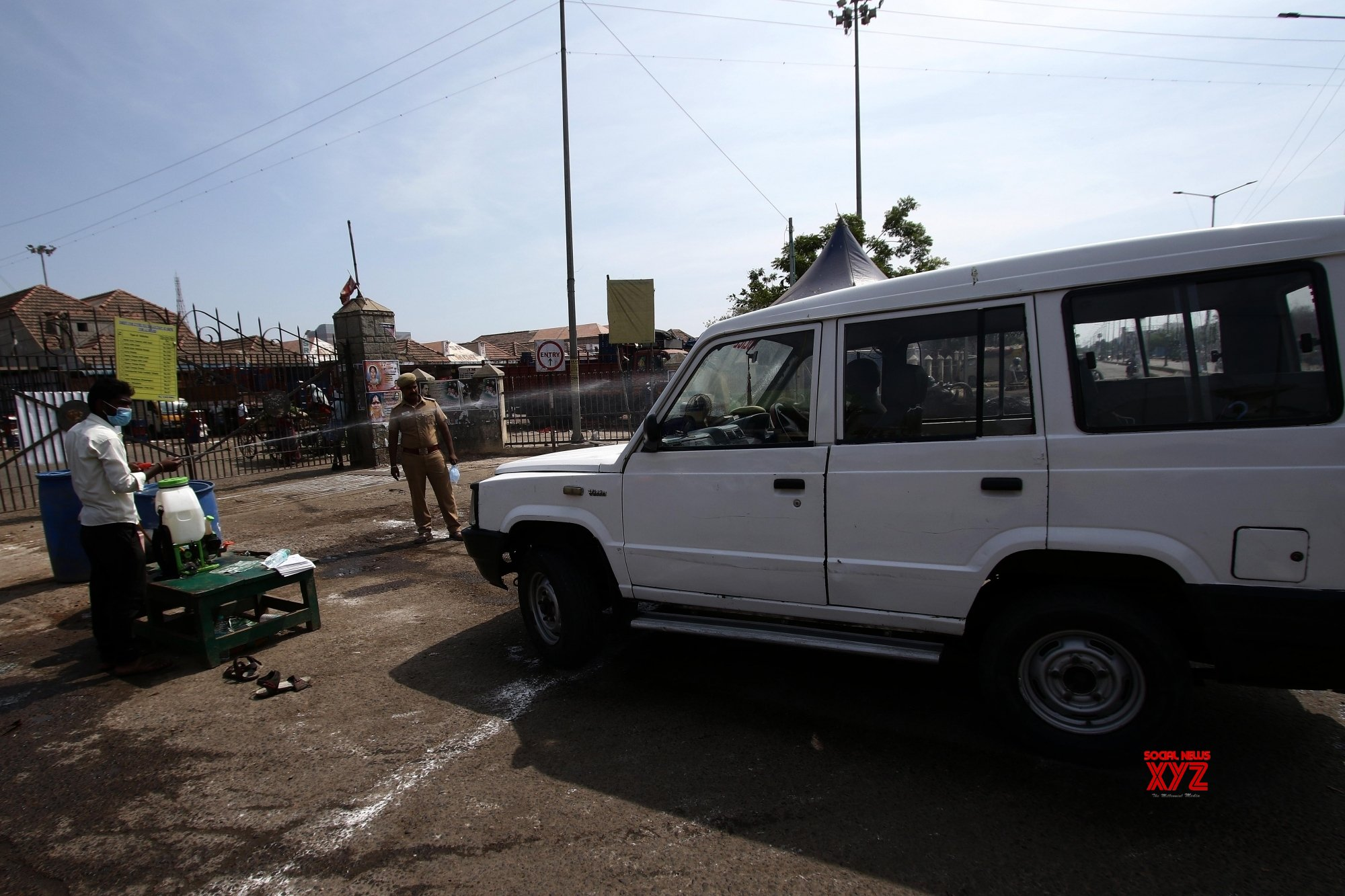 Chennai: City being disinfected amid lockdown #Gallery
