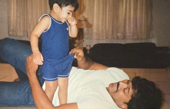 Happy Birthday Ram Charan Wishes Superstar Chiranjeevi