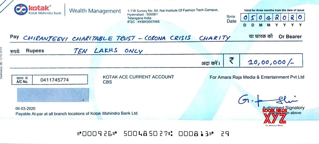 Amara Raja Media And Entertainment Pvt Ltd Producer Padmavathi Galla Contributes Rs 10 Lakhs To Corona Crisis Charity Or The Welfare Of Cine Workers