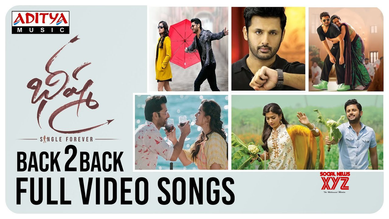 Bheeshma Back To Back Full Video Songs Nithiin Rashmika Mandanna Hd Video Social News Xyz