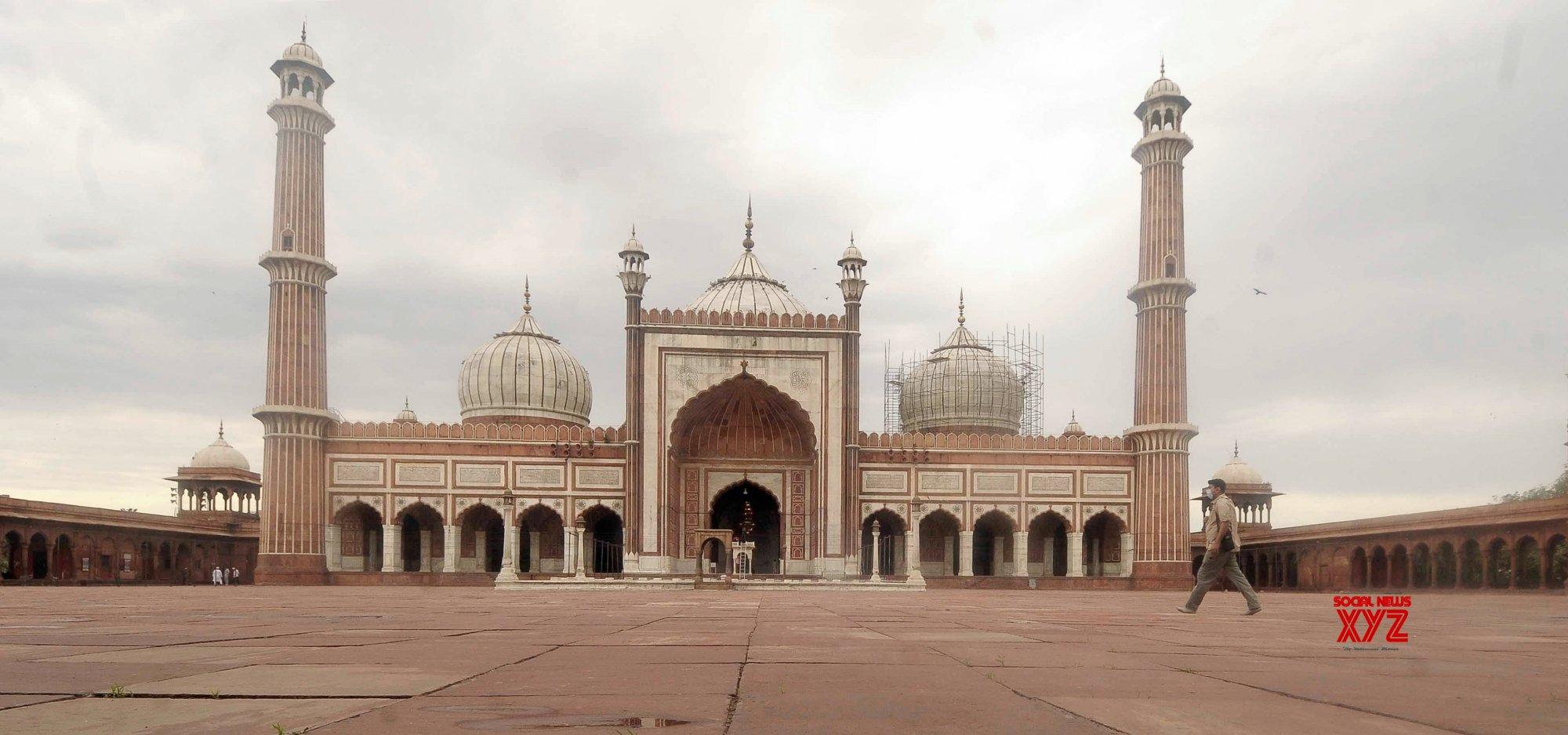 New Delhi Deserted Jama Masjid During Lockdown On Ramadan Eve