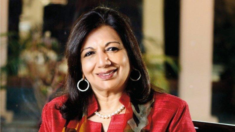 Kiran Mazumdar-Shaw new vice-chair of US-India biz body
