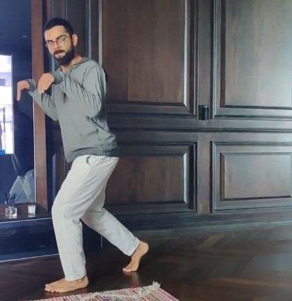 Anushka shares hilarious 'dinosaur' Kohli video on Instagram