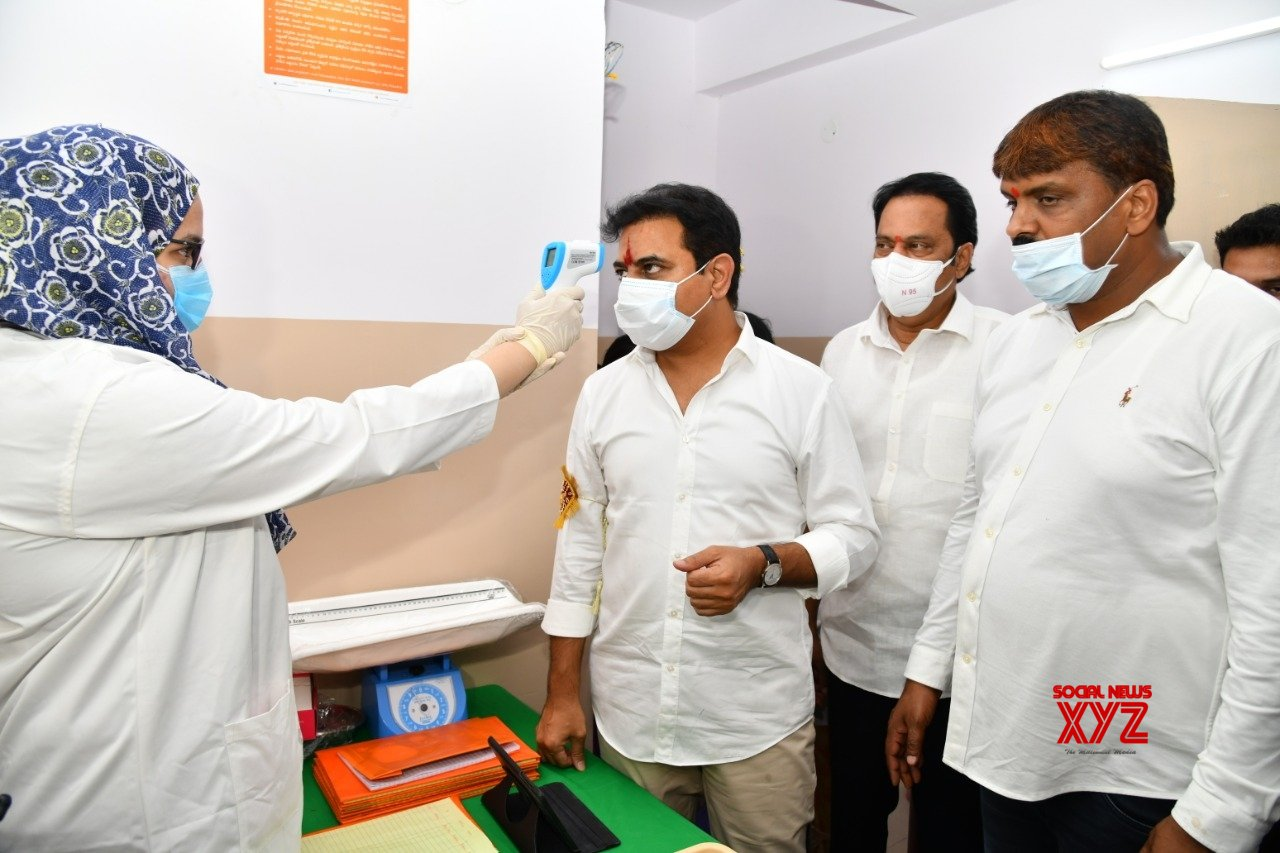 Hyderabad: KT Rama Rao inaugurates Basti Dawakhana during lockdown - 4 #Gallery