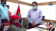 DGP Mahender Reddy Launches Corona Warriors Song (Video)