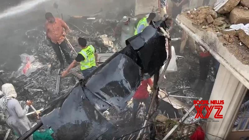 Karachi plane crash toll increases to over 90