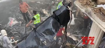 PIA Plane Crashed in Karachi.