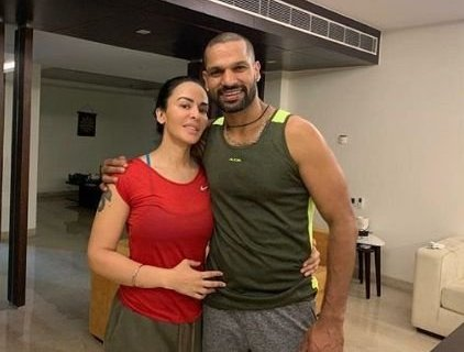 Shikhar Dhawan pens down heartwarming post for wife Ayesha