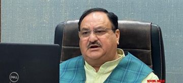 JP Nadda chairs the meeting of BJP Bihar Core Committee