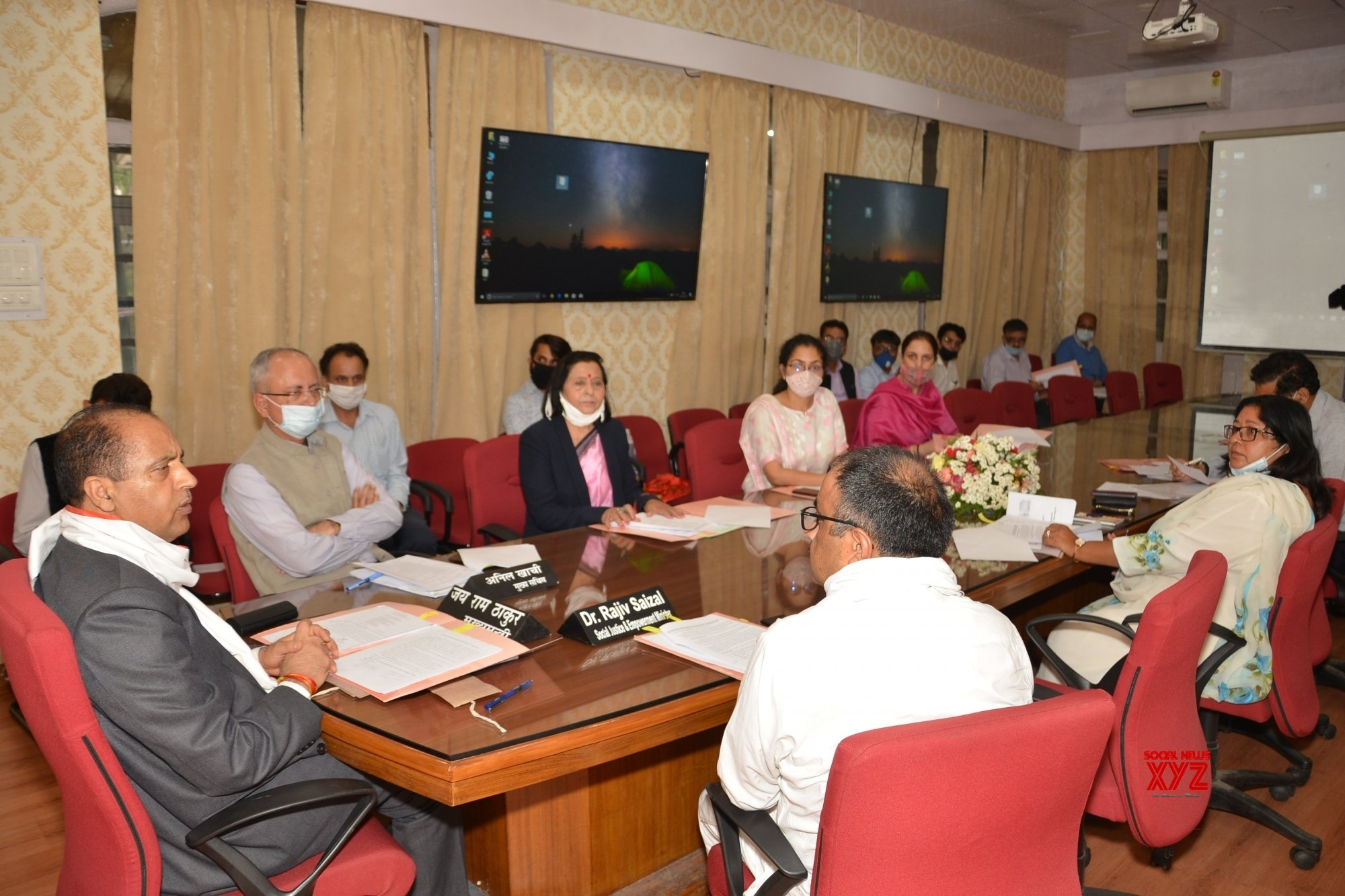 Shimla: Himachal CM chairs meeting of Saksham Gudiya Board #Gallery