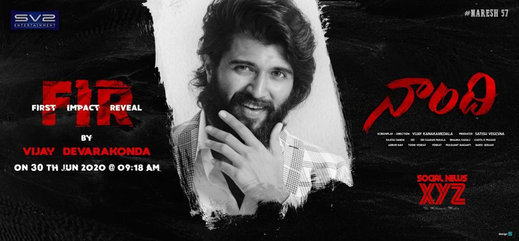 Naandhi First Impact Reveal By Vijay Deverakonda Tomorrow At 09:18 AM