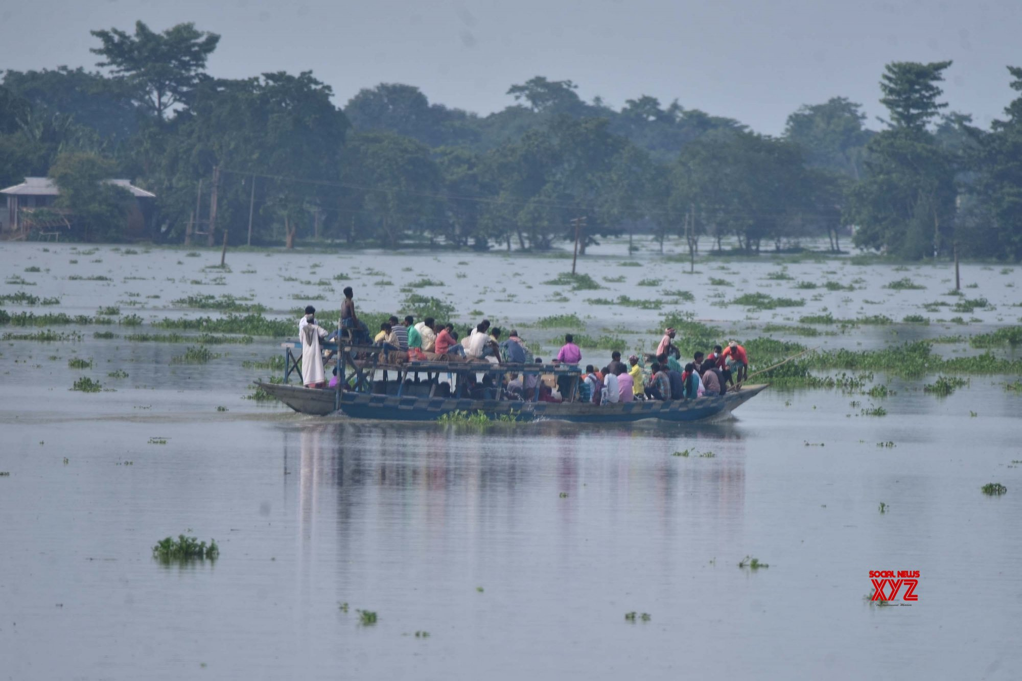 Morigaon: Assam's flood - hit Sildubi village #Gallery