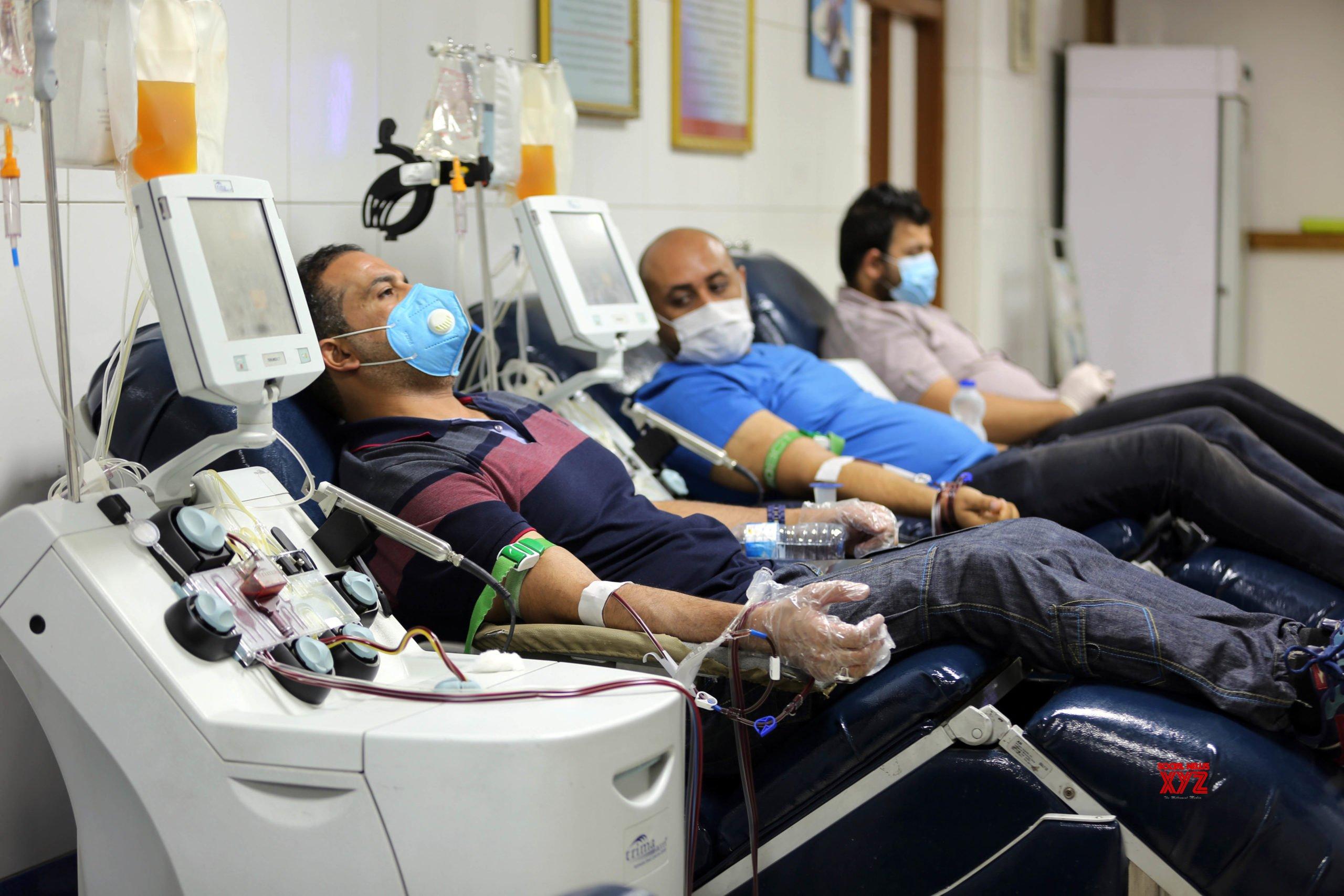 IRAQ - BAGHDAD - COVID - 19 - PLASMA - DONATION #Gallery