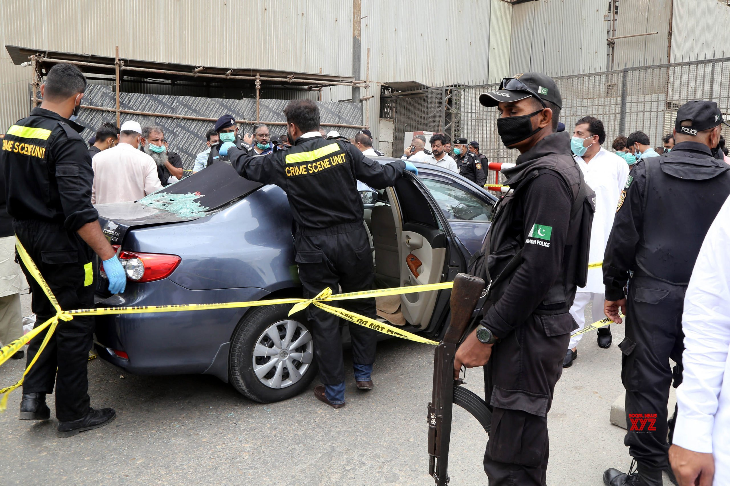 PAKISTAN - KARACHI - STOCK EXCHANGE BUILDING - ATTACK #Gallery