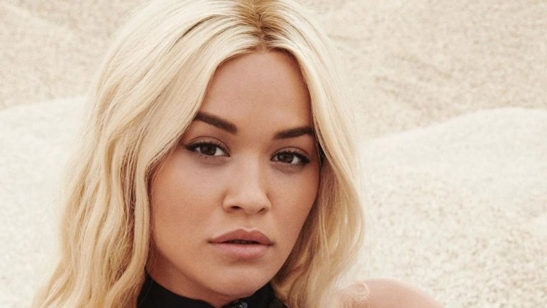 Rita Ora using LED therapy for skincare
