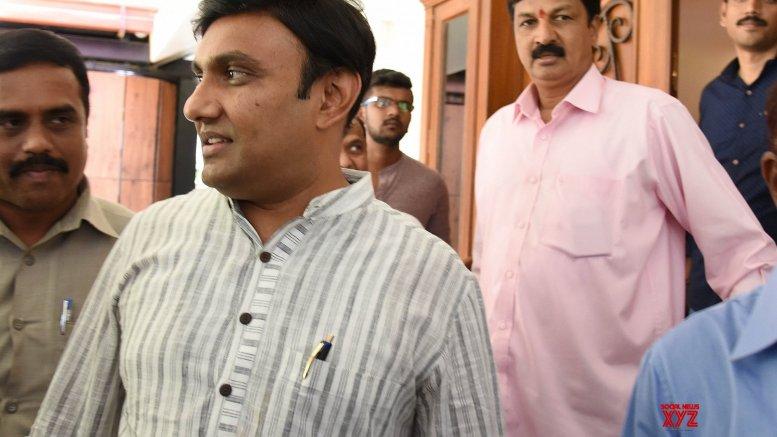 Karnataka minister back at work after home quarantine