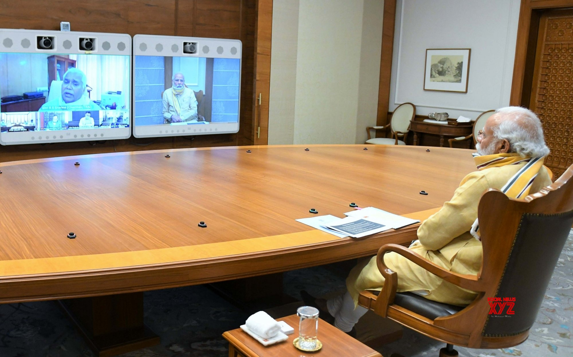 New Delhi: PM Modi chairs high - level meeting to review planning and preparations for Covid - 19 vaccination #Gallery