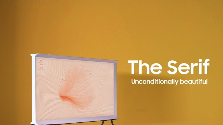 Samsung launches The Serif, premium 8K QLED TVs in India