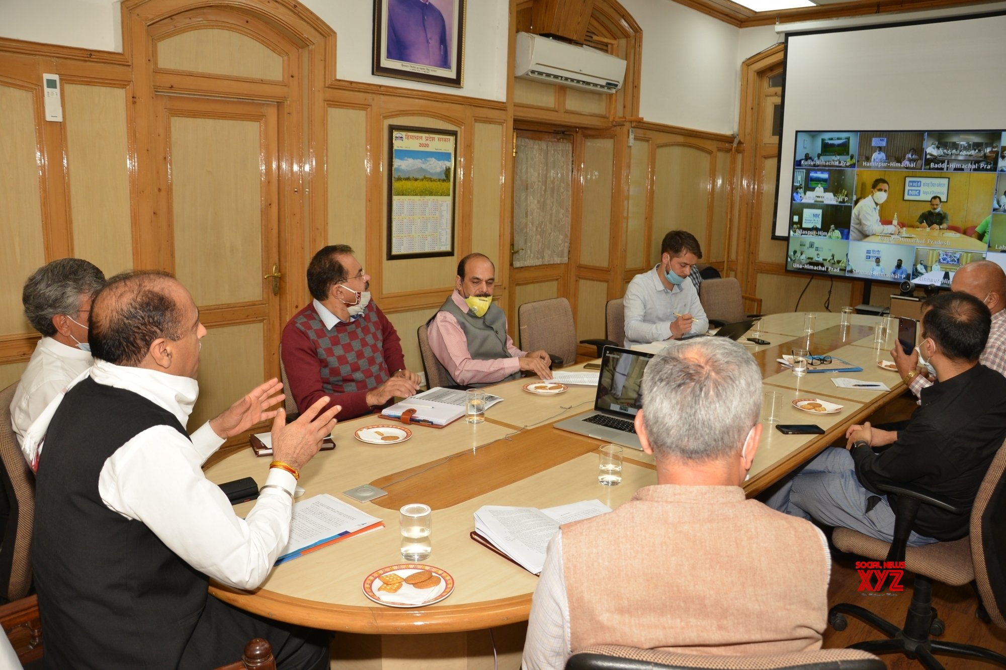 Shimla: Himachal CM launches online Self Certification facility for MSMEs in the State #Gallery