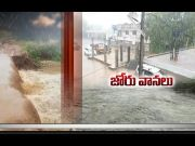 Heavy Rains in Several Places   in State  (Video)