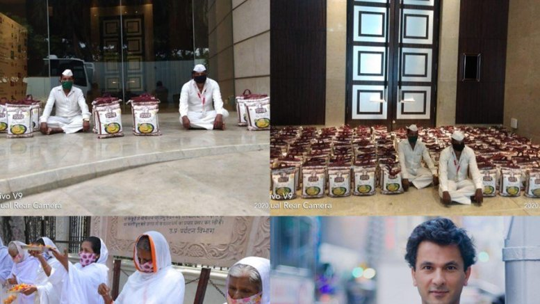Vikas Khanna and India Gate Celebrate 17 Million meals with #Feedindia