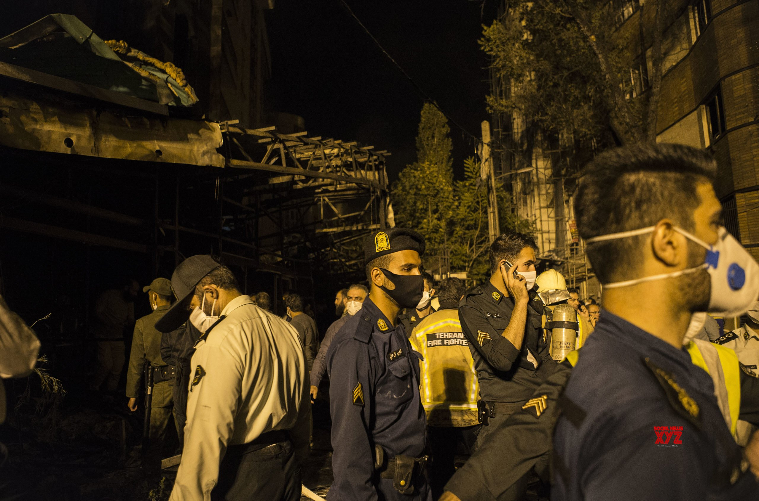 IRAN - TEHRAN - CLINIC - EXPLOSION #Gallery