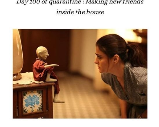 Kajol finds new friends at home