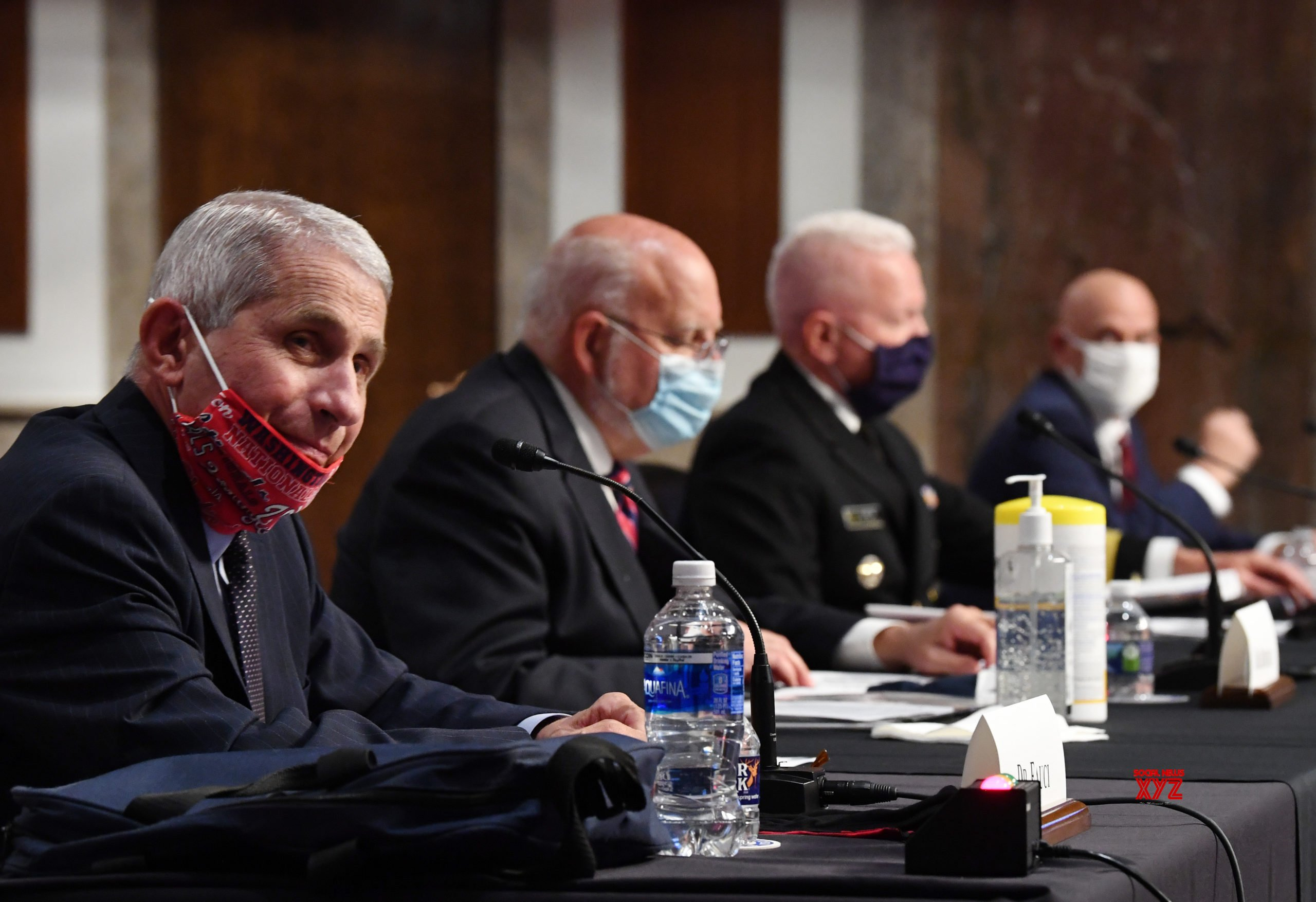 U.S. - WASHINGTON, D.C. - SENATE - HEARING - COVID - 19 #Gallery