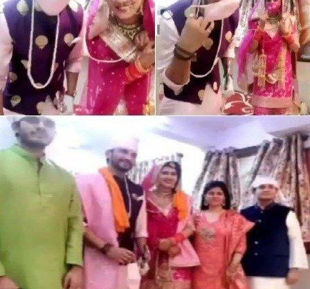 Sangeita Chauhaan and Manish Raisinghan Are Married
