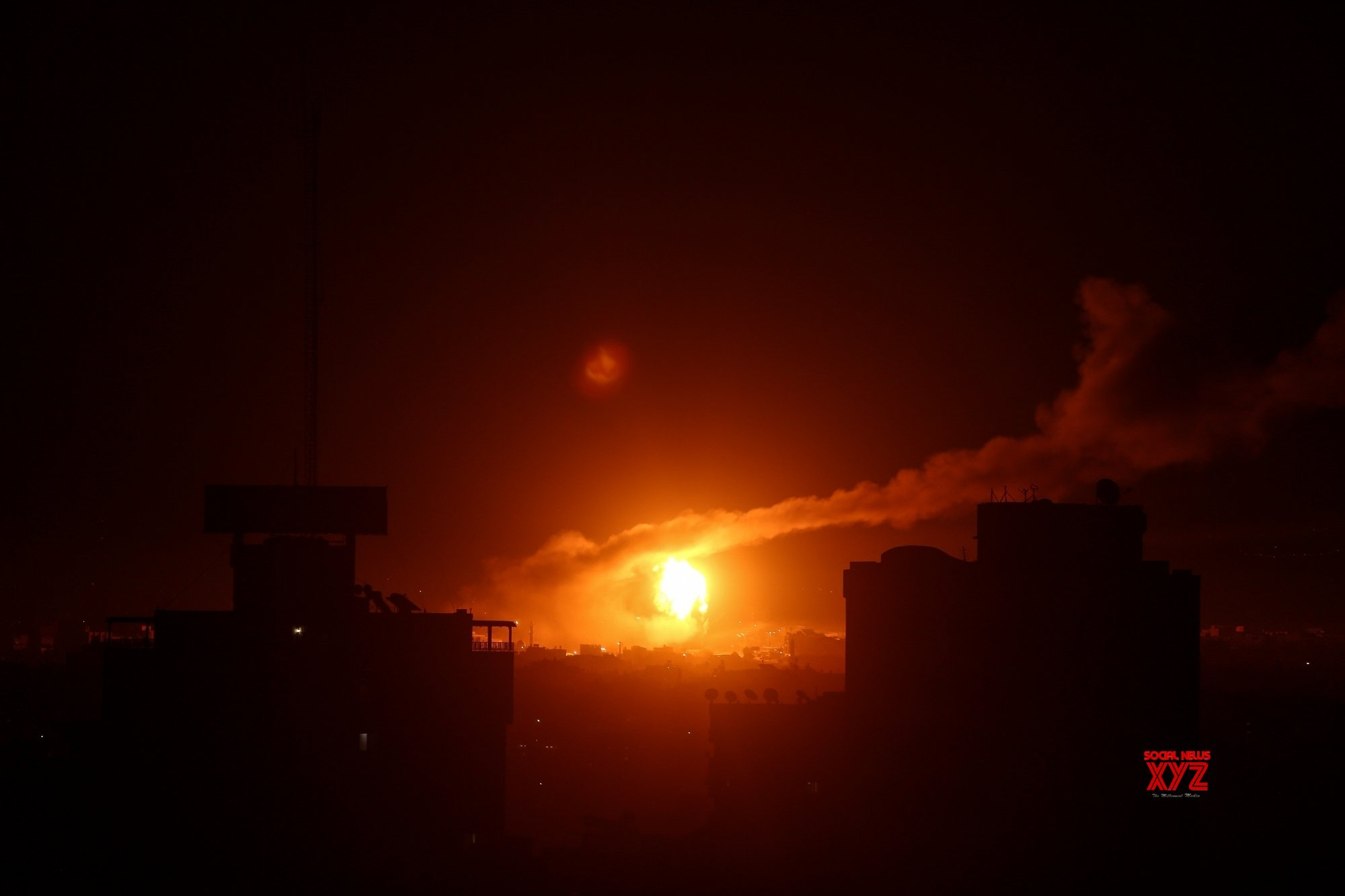 Rocket launched from Gaza toward southern Israel