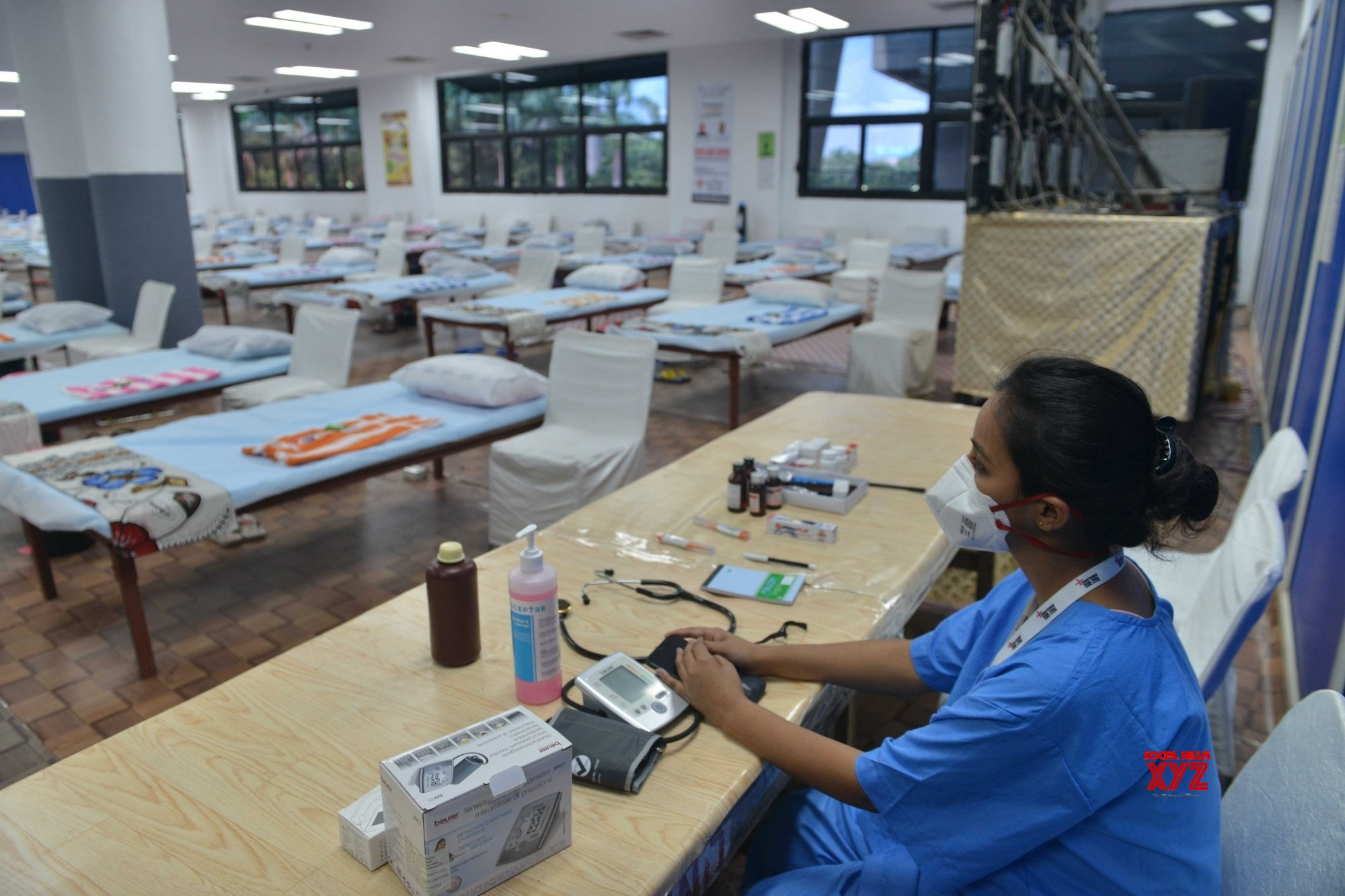 New Delhi: 500 - bed COVID - 19 care centre at CWG village commences operations from today (Batch - 2) #Gallery