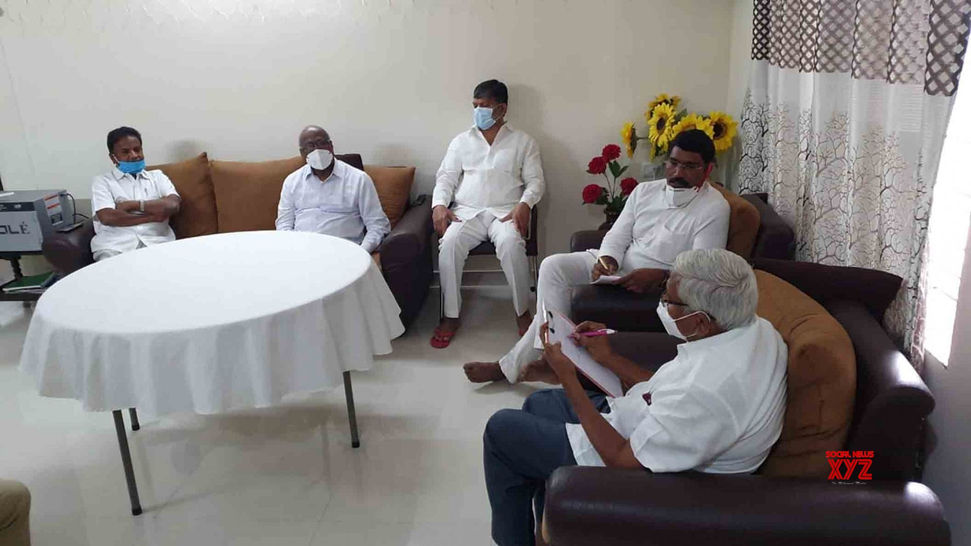 Hyderabad: Opposition party meeting #Gallery