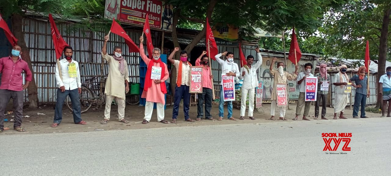 Patna: CPI - ML protests against Bihar Health Minister #Gallery