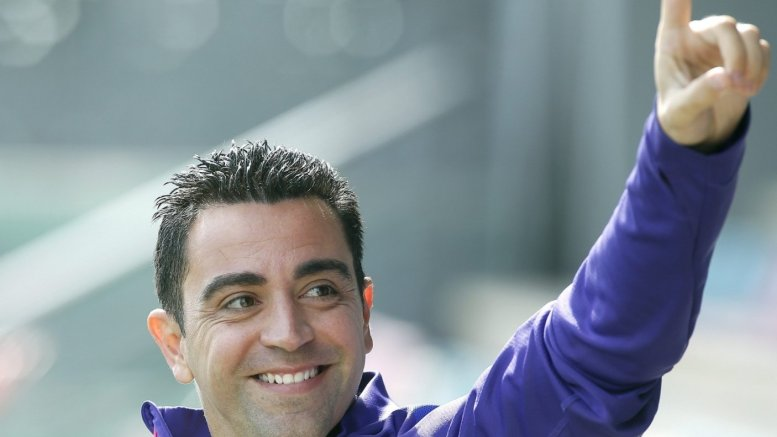 Primary goal is to coach Barcelona, says Xavi Hernandez