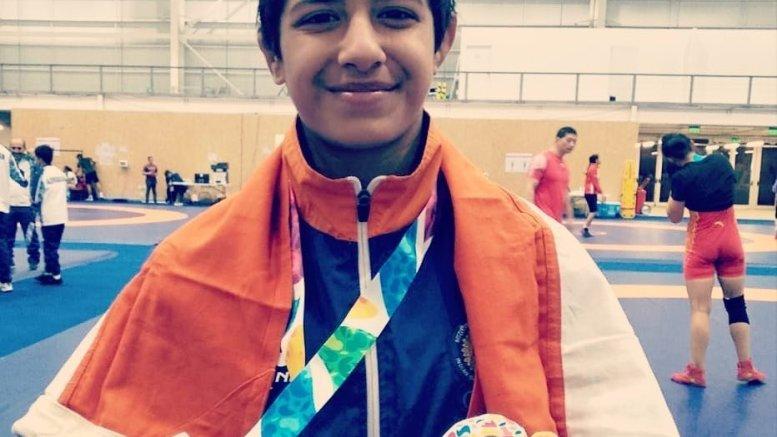 Youth Oly medal winning wrestler awaits prize money to start training