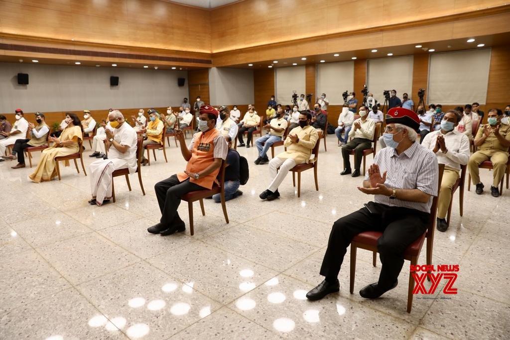 New Delhi: JP Nadda at Kargil Vijay Diwas programme #Gallery