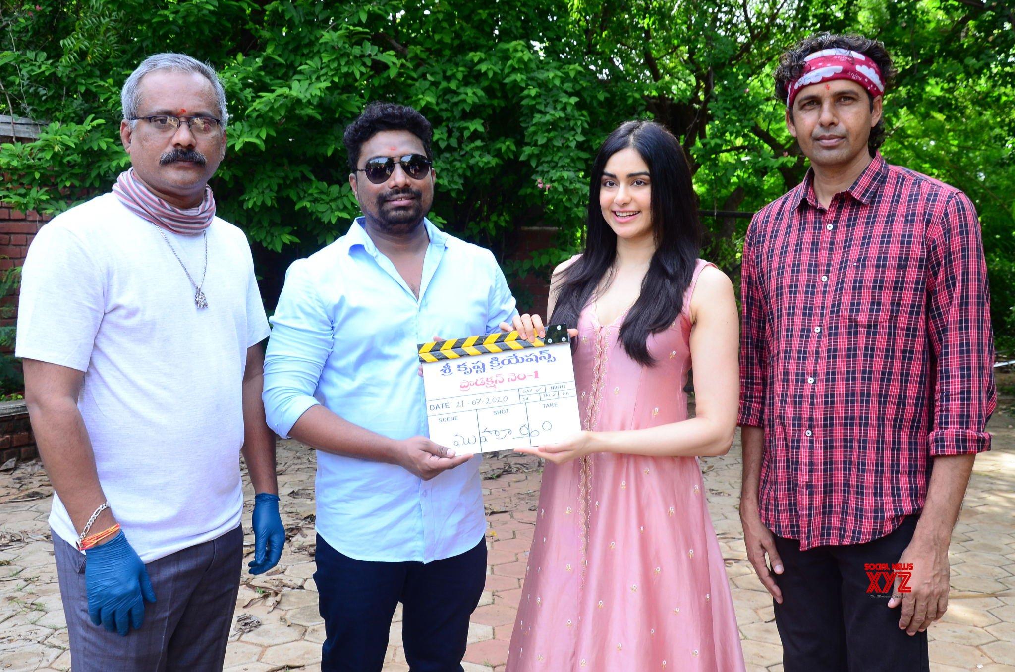 Adah Sharma As Main Lead Shree Krishna Creation Production No1 Movie Launched - Gallery