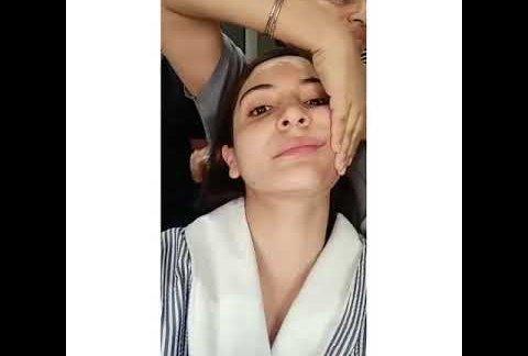 Anushka Sharma misses her 'relaxing' face massage of pre-covid era