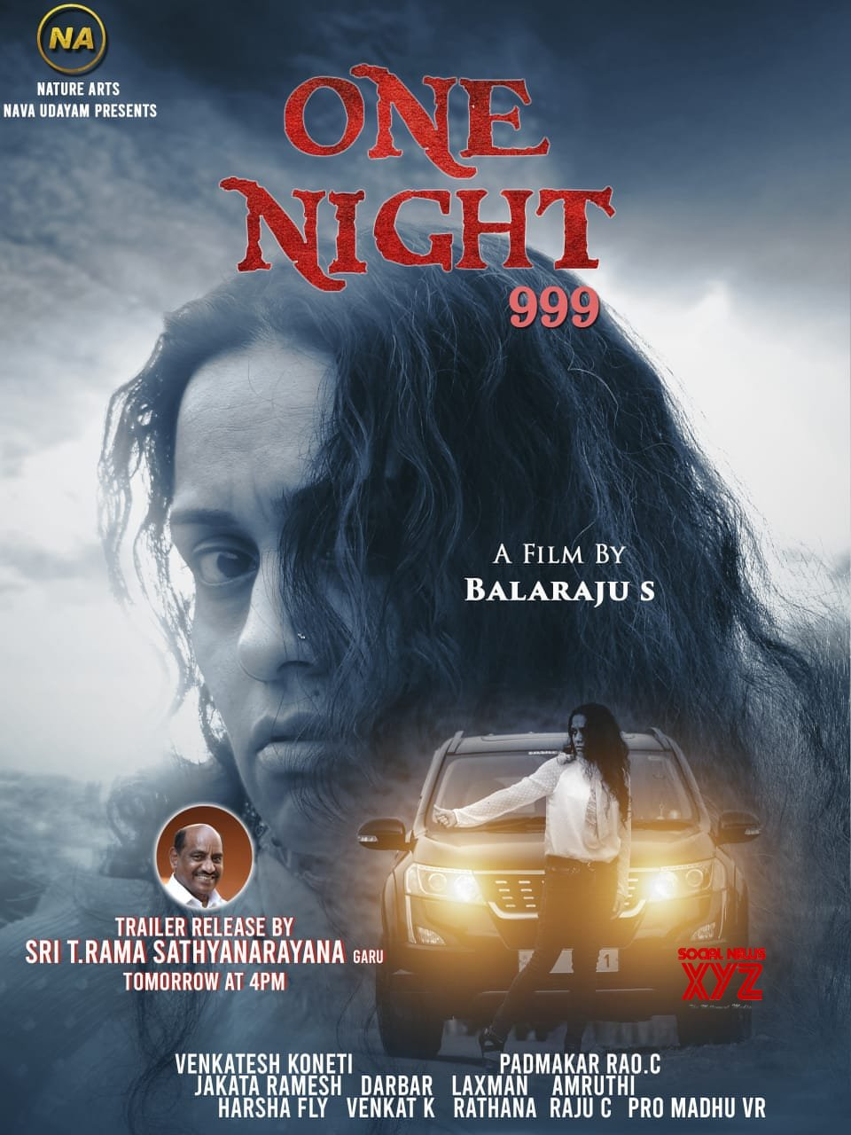 One Night 999 Movie Poster And Trailer Launched