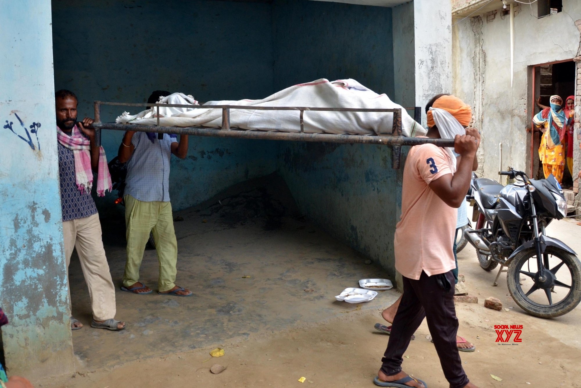 Amritsar: Spurious liquor kills 1 in Muchhal village #Gallery