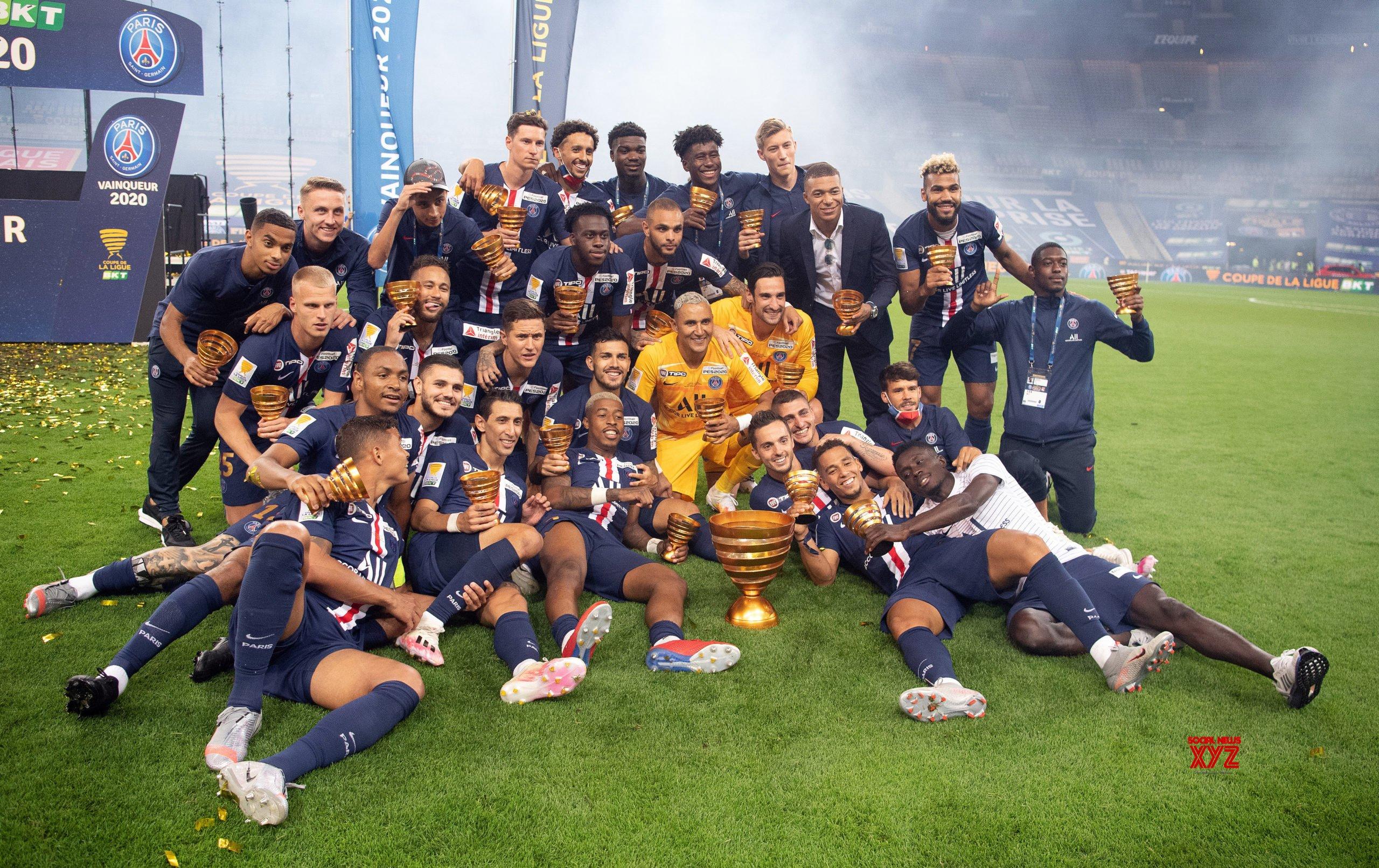 FRANCE - PARIS - FOOTBALL - FRENCH LEAGUE CUP - FINAL - PSG VS LYONNAIS #Gallery