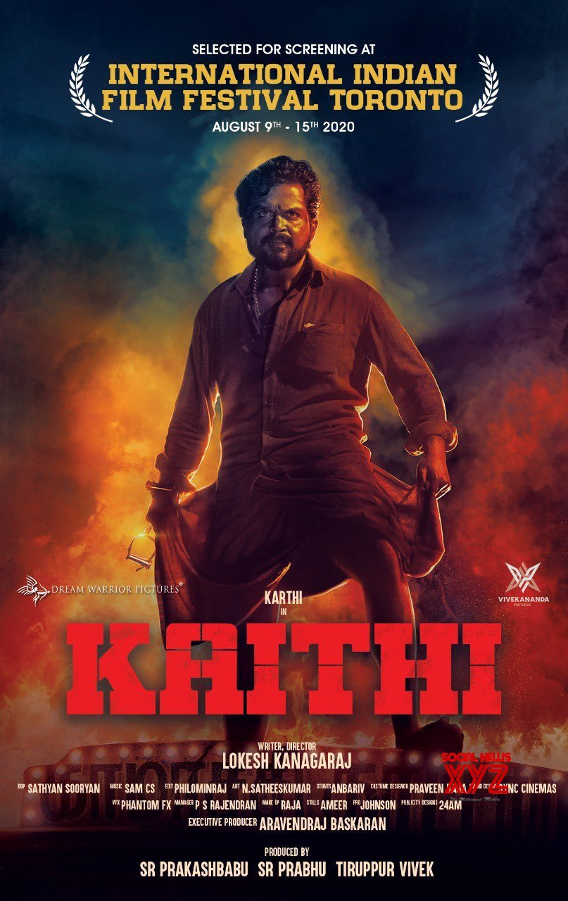 Karthi's Blockbuster Kaithi Selected For International Indian Film Festival In Toronto