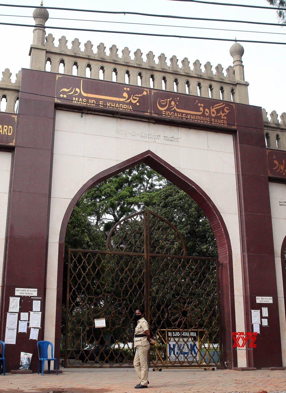Bengaluru: Jumma Masjid remains closed on Eid - Ul - Adha due to COVID - 19 pandemic #Gallery