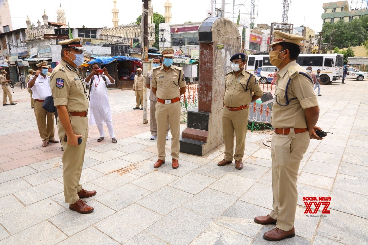Hyderabad: Security beefed up during Eid - Ul - Adha celebrations #Gallery