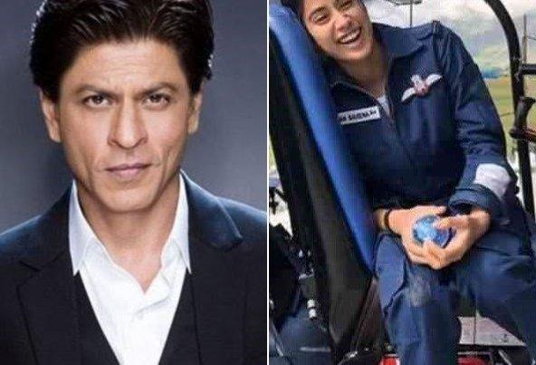 Shah Rukh Khan Unveils Gunjan Saxena The Kargil Girl Trailer Social News Xyz