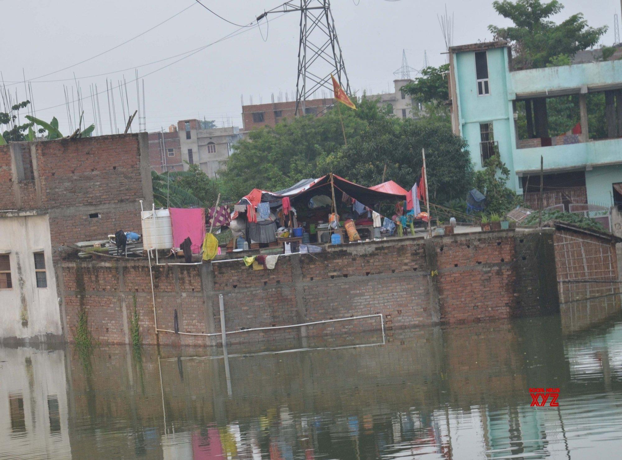 Muzaffarpur: Flood - hit Muzaffarpur #Gallery
