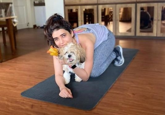 Karishma Tanna has new workout partner