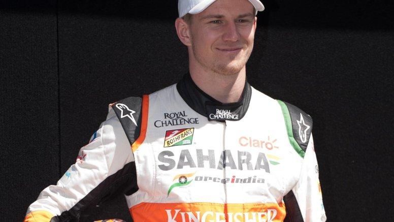 British GP: Hulkenberg's comeback race ends before it starts