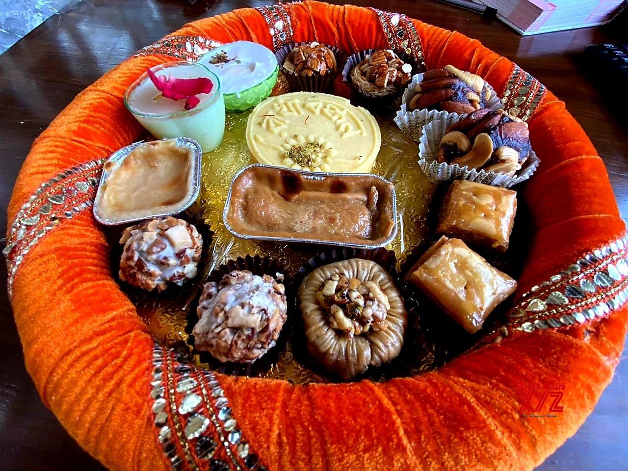 Kolkata: Raksha Bandhan - themed sweets on sale ahead of the festival #Gallery
